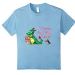 Dragons Dont Wear Pants Childrens Book Tshirt