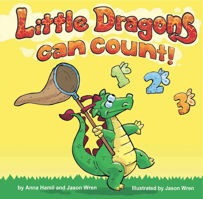 little dragons can count children's book